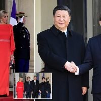 Macron rolls out the red carpet for President Xi