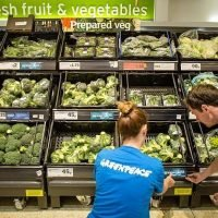 Greenpeace shames supermarkets for failing to cut down plastic waste