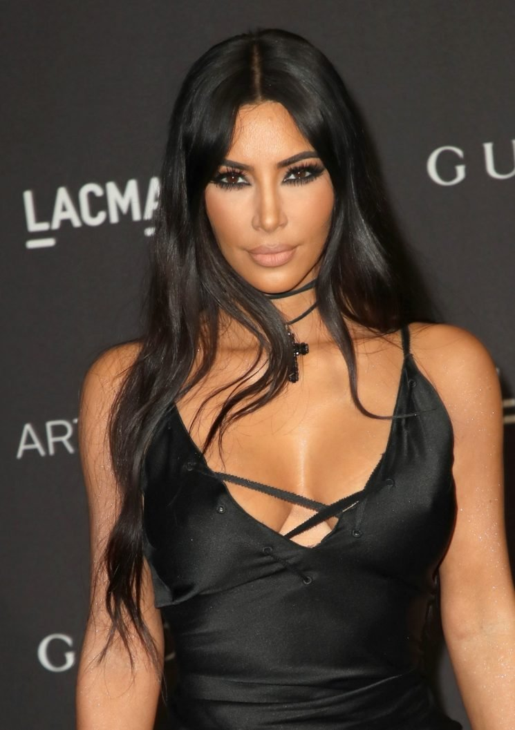 Kim Kardashian's Latest See-Through Outfit Will Make You Want To Get A Sparkly Bodysuit This Season