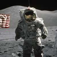 US will send humans back to moon 'in the next five years', Mike Pence claims