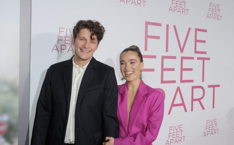 'Five Feet Apart' Star Haley Lu Richardson & Brett Dier Got Engaged In The Most Chill Way