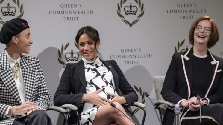 Meghan Markle 'moved the dial' for British royalty in her first Q &A
