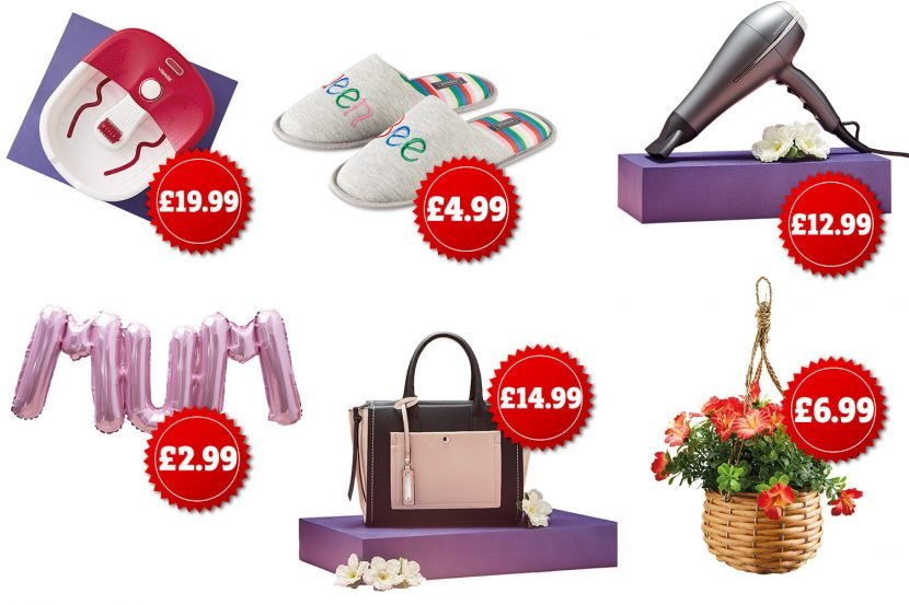 Aldi launches new Mother's Day gift range – including a £20 foot spa and £5 slippers