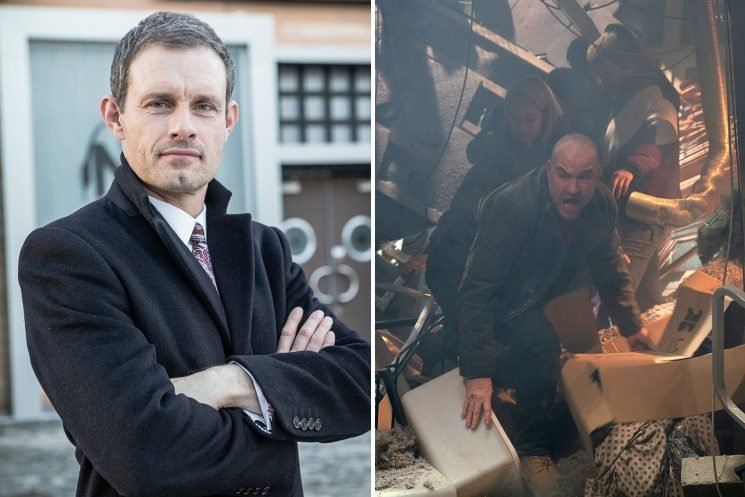 Coronation Street's Nick Tilsley refuses to lose his businesses and could destroy the factory for cash reveals Ben Price