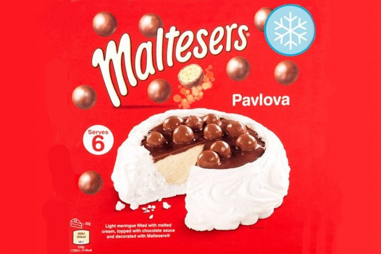 Tesco is selling a frozen Malteasers pavlova for £3 and it sounds incredible
