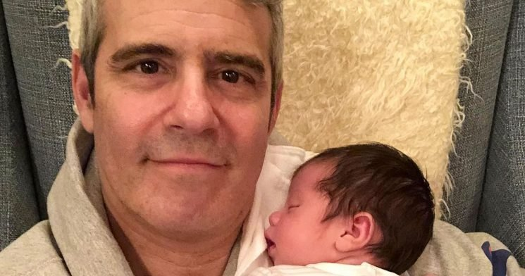 See Andy Cohen Introducing Baby Benjamin to Kelly Ripa and More Friends
