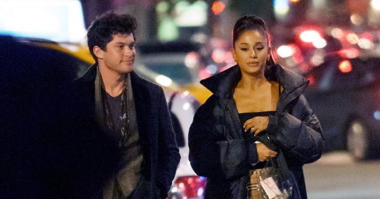 Ariana Grande Hangs With Ex Graham Phillips After Big Sean Reunion