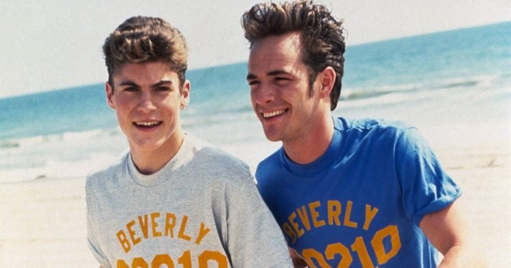 Brian Austin Green Defends Not Posting Tribute to '90210' Costar Luke Perry