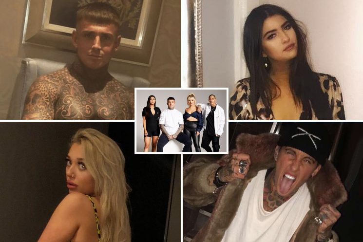 Fame-hungry new Geordie Shore stars stripped off and flashed their bums on social media before signing up for reality show