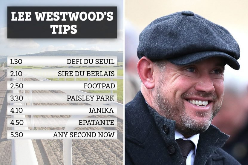 Lee Westwood makes his Cheltenham Day 3 picks after bagging £48k acca