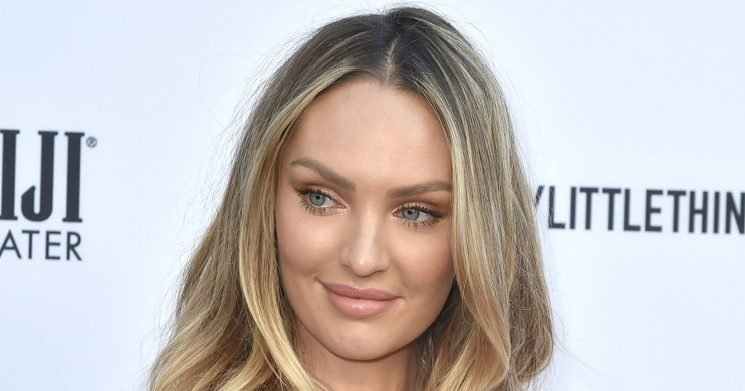 Candice Swanepoel Has a Mom Group Chat With These Victoria's Secret Angels