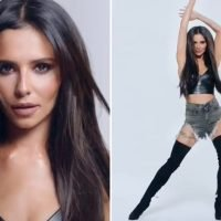 Cheryl looks stunning in a crop top and hot pants for glamorous new Easilocks photoshoot after being dumped by L'Oreal
