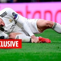 Gareth Bale's Real Madrid misery continues with star out for a week with ankle injury and will miss Valladolid clash