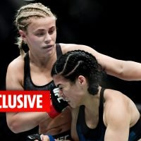 Paige VanZant aiming for June UFC return after fracturing her arm for a third time