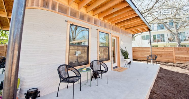 New Technology Can 3D Print Affordable Homes In Less Than 24 Hours