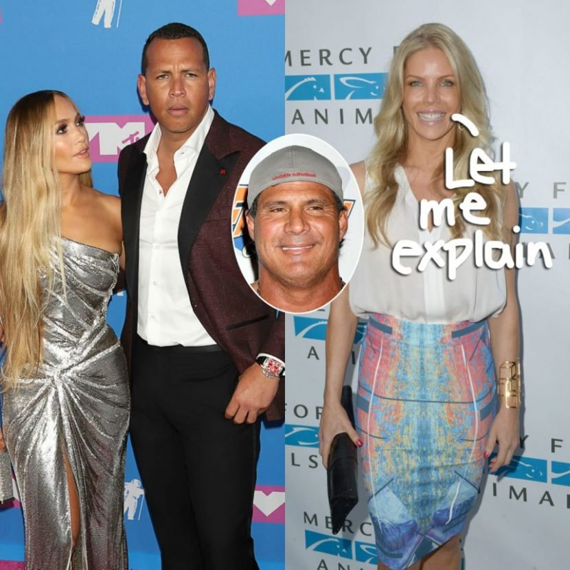 Jose Canseco's Ex-Wife Jessica Clears The Air About Alex Rodriguez Cheating Accusation!