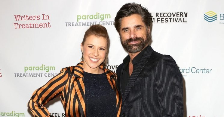 John Stamos Credits Jodie Sweetin With Helping Him Become Sober