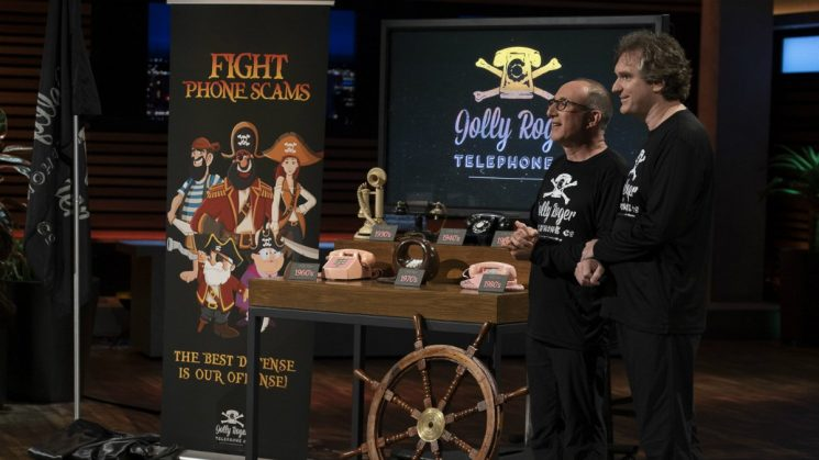 Jolly Roger Telephone Company on Shark Tank: Stop telemarketers and scammers in their tracks with this service
