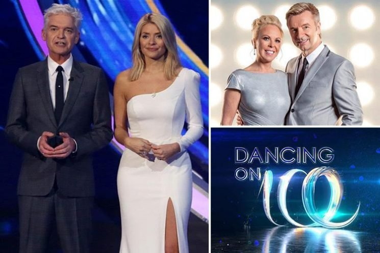 Who's hosting Dancing On Ice 2019?