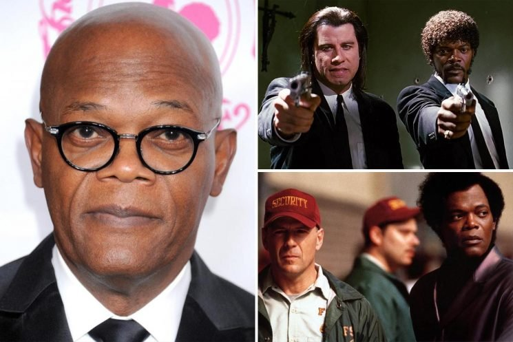 How old is Samuel L Jackson, what films is the Glass actor in and who's his wife?