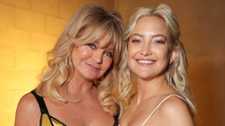 Here's What Goldie Hawn Taught Kate Hudson About Co-parenting With Three Dads