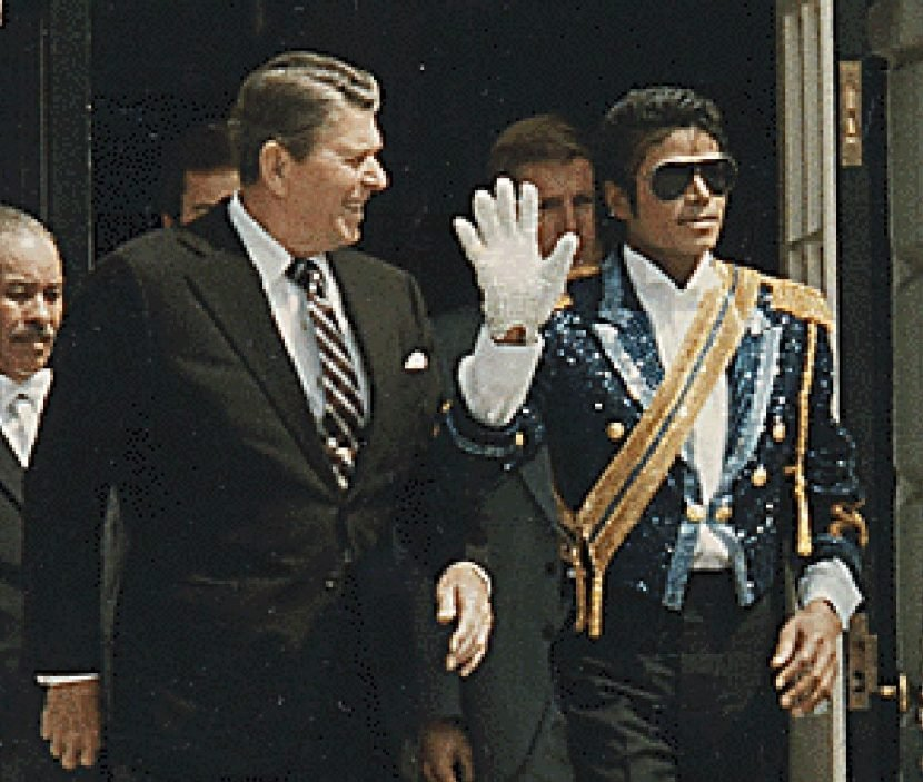 Michael Jackson child sex abuse probe 'dropped by FBI because Thriller singer was due to get an award from President Ronald Reagan'