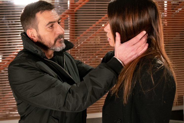 Carla Connor breaks down to ex Peter Barlow, but even more heartache is on its way for the factory owner