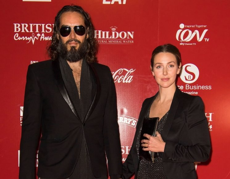 Who is Laura Gallacher? Russell Brand's wife, mother to Mabel and their new baby daughter and Kirsy Gallacher's sister