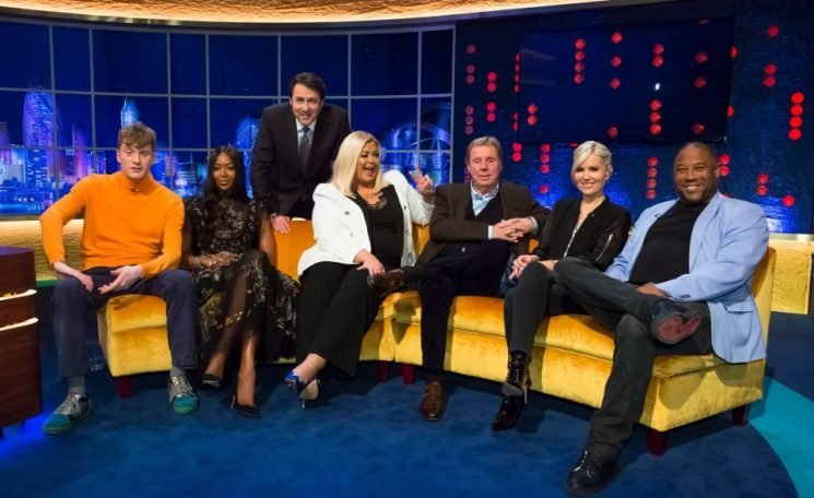 Who is on the Jonathan Ross Show TONIGHT on ITV? I'm a Celeb's Harry Redknapp, John Barnes and Naomi Campbell