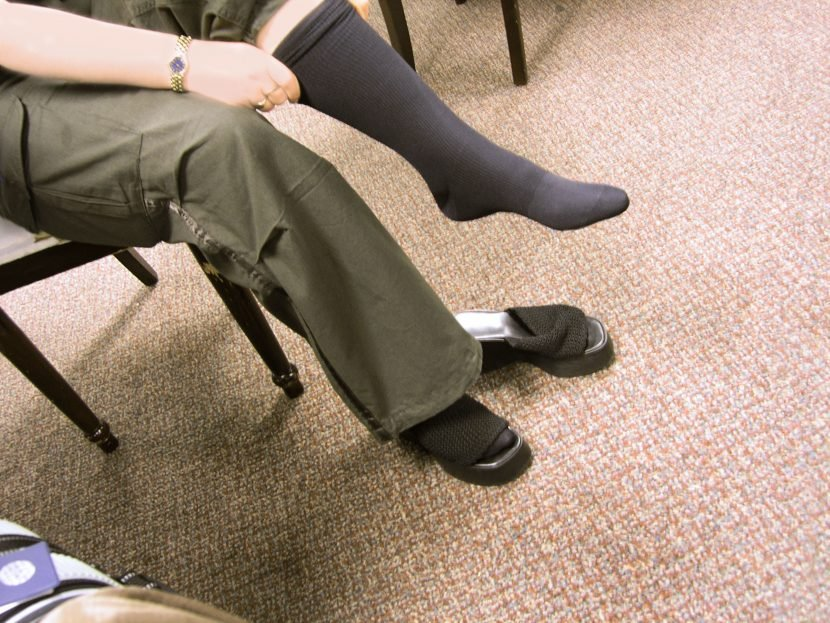 You've probably been wearing your flight compression socks WRONG according to a doctor