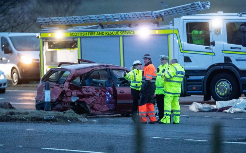 Three dead in mass pile-up on A90 after horror crash involving Megabus