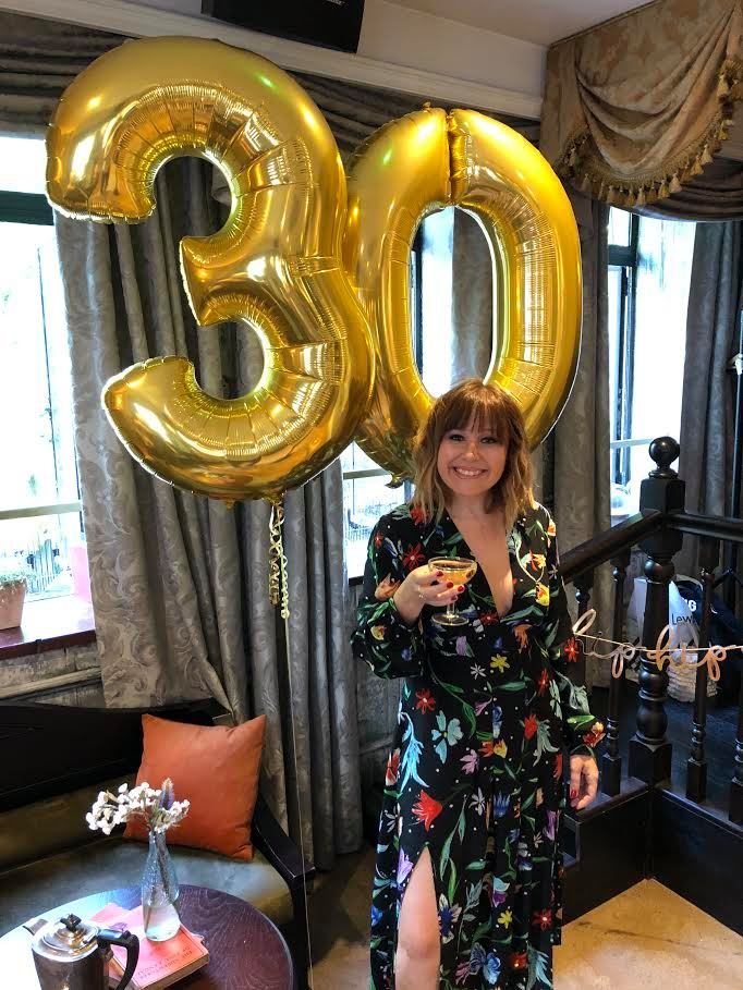 From two day hangovers to comfy knickers, Joely Chilcott celebrates turning 30