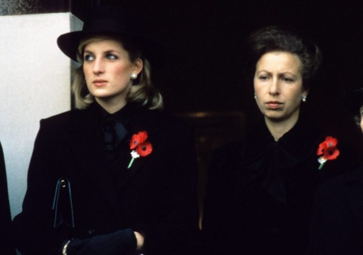 Why Princess Diana and Prince Charles' sister Princess Anne Didn't Get Along