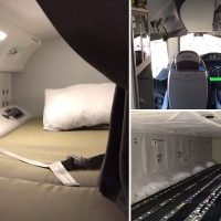 Qantas reveals the hidden parts of the plane that you never see including crew quarters, cargo hold and the cockpit