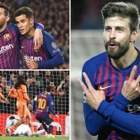 Messi dazzles as Barca dominate Lyon and advance to Champions League quarter-finals