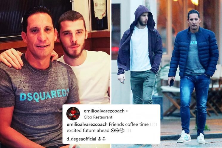 De Gea sends fans wild with Instagram hint that he's about to sign Man Utd contract
