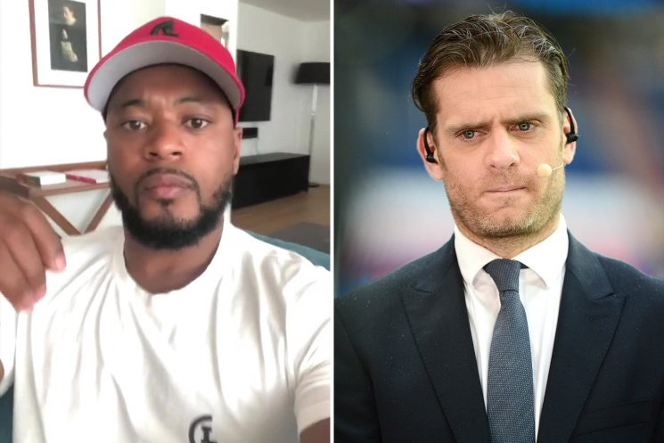 Evra threatens to hit ex-team-mate Rothen as Man Utd celebration row escalates