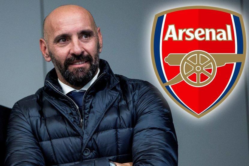 Major Arsenal blow as transfer guru Monchi set to snub Gunners for Sevilla return