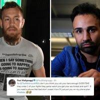 McGregor 'robs his fans enough', taunts rival Malignaggi after UFC star's arrest