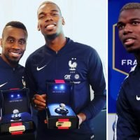 Pogba shows off tacky, diamond-encrusted World Cup winners rings he bought France squad after Russia 2018 win