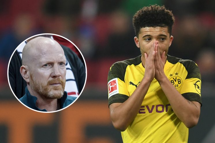 Jadon Sancho criticised by Borussia Dortmund legend Matthias Sammer after Augsburg loss