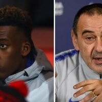 Chelsea fans fume at Sarri after he says Hudson-Odoi may not start against Dynamo Kiev – because it's important