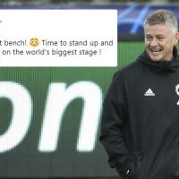 Solskjaer names Man Utd team with five teenagers on bench for PSG clash