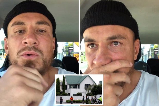 Sonny Bill Williams in tears as the Muslim and All Black pays emotional tribute to New Zealand terror victims