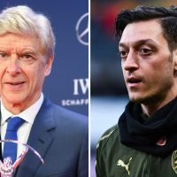 No wonder he got £350k a week! Mesut Ozil was one of the only Arsenal players ever to give Arsene Wenger a Christmas present