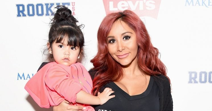 Oh No! How Snooki's 4-Year-Old Daughter Giovanna Broke Her Arm