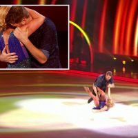 Dancing On Ice's Brian McFadden spectacularly DROPS Alex Murphy as he falls in skate off before being booted out of the semi-final