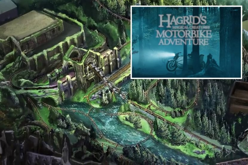 New details revealed for Hagrid's rollercoaster at Universal Orlando's Wizarding World of Harry Potter