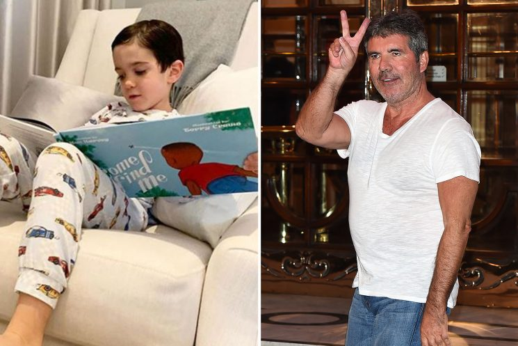 Simon Cowell breaks two-year Instagram silence to share rare snap of son Eric
