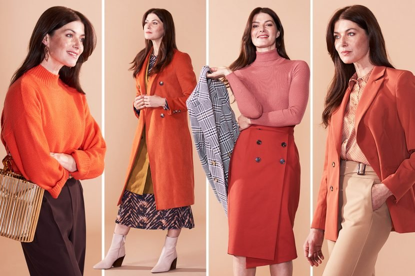 How to wear this season's hottest statement shade orange — no matter your age